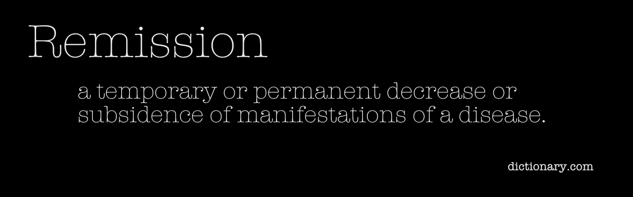 remission definition